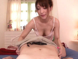 Horny Japanese chick Kokomi Sakura in Exotic JAV censored POV, Hairy scene