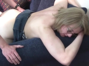 Best pornstar Molly Adams in exotic mature, blonde sex movie
