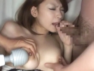 Best Japanese whore Arisa Kuroki in Incredible Threesomes, Facial JAV clip