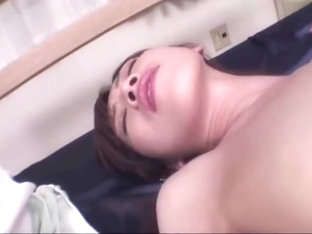 Hot asian gal Hanai Kanon enjoys some hottest anal beads
