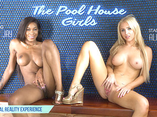 Alix Lynx & Nadia Jay in The Pool House Girls - VRBangers