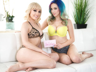 London River & Summer Brooks in Out of the Closet - TwistysNetwork