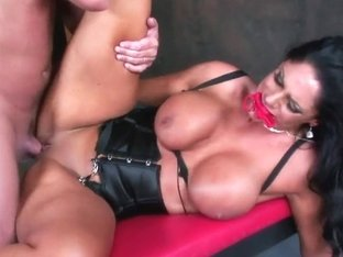 RawVidz Video: Busty Angela Aspen Riding Cock