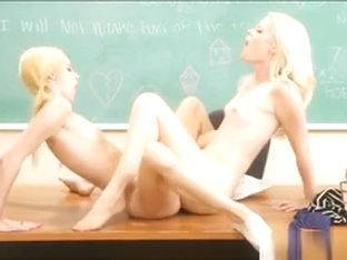 Charlotte Stokely And Lola Hunter Clit To Clit Fucking