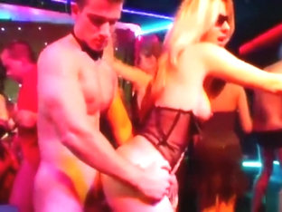 Orgy in club compilation doggystyle