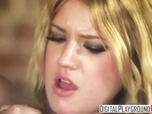 Digital Playground - Dumb blonde Bella Banxx gets talked into doing porn