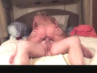 Incredible amateur cowgirl, big tits, riding adult movie