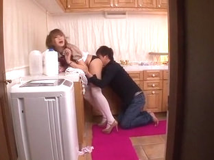 Amazing Japanese whore Anna Anjyo in Best Stockings/Pansuto, Doggy Style JAV scene