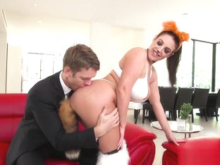 Angela White is the sluttiest fox in the forest!