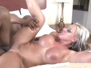 Brooke Jameson Gets Nailed With A Black Cock