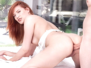 Private Debut For Redhead Stasy Riviera Is Loaded With Anal  - Private