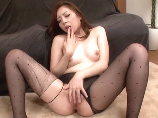 Crazy Japanese model Maki Mizusawa in Amazing JAV uncensored Stockings movie