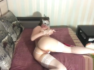 Ass fingering and fisting fucking my pussy with a toy