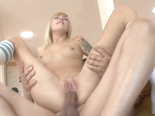 Emma Mae fucking an older dude