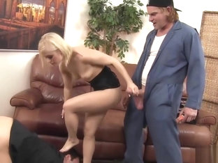 Ash Hollywood Makes Her Man Watch