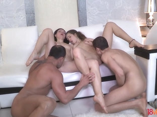 18videoz - Greta A - Taissia Shanti - Staying together to fuck