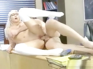 Sexy Nerd Kylie Page Gets Impaled By Hung Teacher