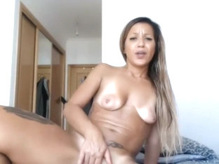 Tanned and Tattooed Skank Ass Drilled for Money