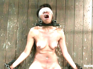 Yasmine de Leon in Blindfold + Impact play = Awesome Mind Fuck - DeviceBondage
