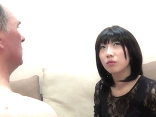 Japanese girl dominating and humiliating white man
