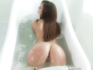 Comely breasty UK Lily Carter was hardly fucked deep in the ass