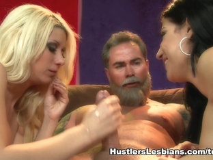 Exotic pornstars Daisy Cruz, Anjanette Astoria, Jazy Berlin in Hottest Blonde, Big Tits sex scene