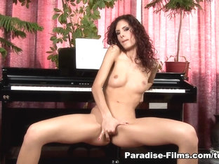 Hottest pornstar Leanna Sweet in Incredible Solo Girl, Redhead sex scene