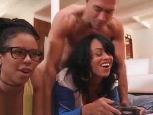 Anya Ivy Kira Noir Xander Corvus - Ebony Three Player Game
