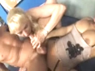 Crazy fetish threeway fucking