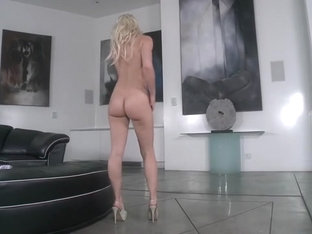 Annika Albrite business woman asshole tease part 2