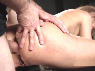 Busty Beauty Gets Rough Sex Training