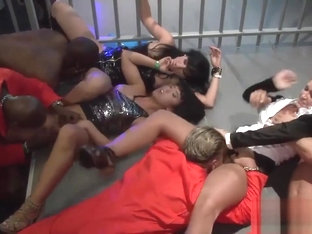 Intense Orgy Session With Adorable Sex Bombs