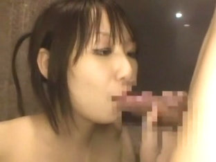 Hottest Japanese whore Shizuku Awano in Exotic POV, Blowjob JAV video