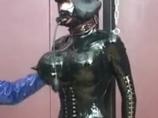 German Lady Stella and Silvia have Rubberdolls