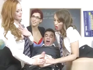 Educational And Pleasurable Oral Sex In The Classroom