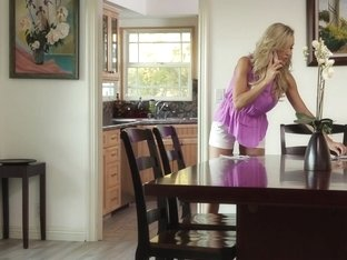 Brandi Love In Thong Stuffing