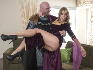 Britney Amber & Johnny Sins in Cucked For Historical Accuracy - BrazzersNetwork