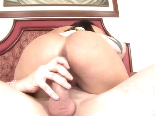Latin honey, Bruna Ferraz got fucked in a doggy- style position and enjoyed it a lot