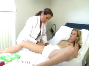 nurse makes her fill up her diaper