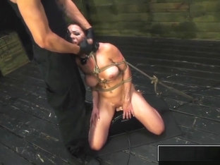 Bdsm Humiliation For Horny Kylie Rogue