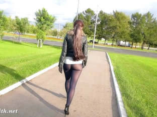 Jeny Smith pantyhose pretend to be leggings