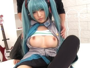 Hatsune Miku Is Ready For Action