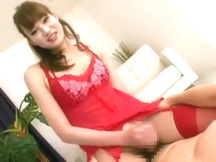 Incredible Japanese girl in Horny Blowjob, Asian JAV clip