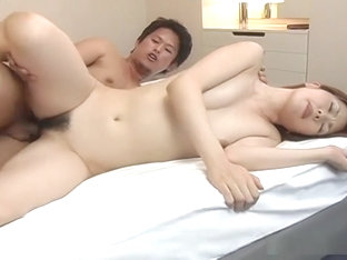Jun Nada in blowjob and cock riding for cumshot!