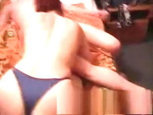Hot double blowjob threesome