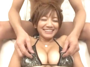 Amazing Japanese model Meguru Kosaka in Exotic Lingerie, Big Tits JAV video