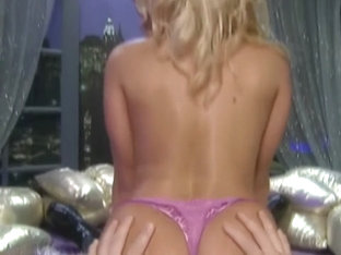 Lana Lotts giving me a HOT lap dance in purple sexy panties