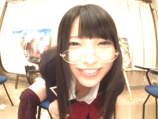 Ai Uehara solo masturbation is enjoyed by this hot schoolgirl