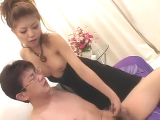 Fabulous Japanese girl Akane Hotaru in Incredible Handjob, Couple JAV video