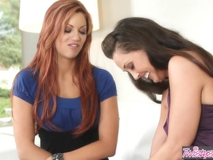 When Girls Play - Jayden Cole Melissa Jacobs - Redhead and brunette lesbians sissor - Twistys